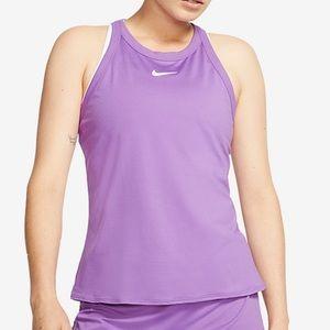 Nike Court Dri-Fit Tennis Tank Top Purple